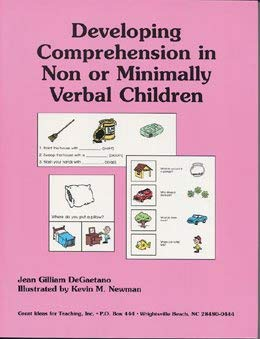 9781886143401: Developing Comprehension in Non or Minimally Verbal Children