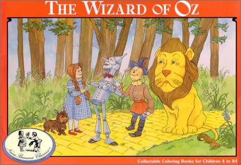 9781886201040: The Wizard of Oz/Coloring Book (NanaBanana Classics)