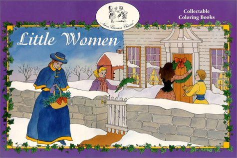 9781886201057: Little Women Coloring Book (NanaBanana Classics)