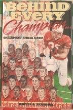 Behind Every Champion. :1995 Cornhusker Football Seniors: Zimmer, Keith A.