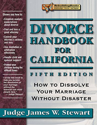 9781886230521: Divorce Handbook for California: How to Dissolve Your Marriage Without Disaster