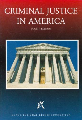 Criminal Justice in America: Croddy Marshall