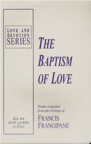 9781886296091: Baptism of Love: