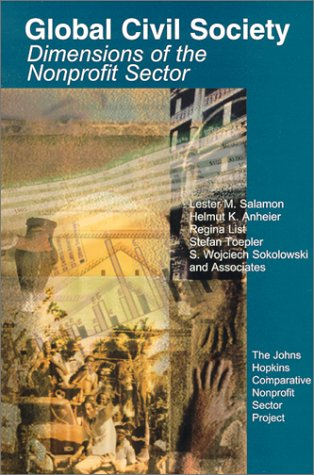 9781886333420: Global Civil Society: Vol one: Dimensions of the Nonprofit Sector