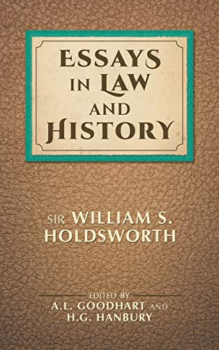 9781886363137: Essays in Law and History