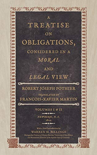 9781886363625: A Treatise on Obligations, Considered in a Moral and Legal View. Translated from the French of Pothier.