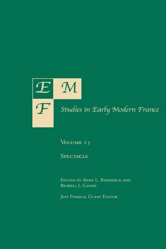 Emf: Studies in Early Modern France, Volume 13: Rookwood Press