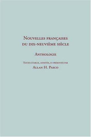 9781886365599: Nouvelles françaises du 19e siècle. Anthologie