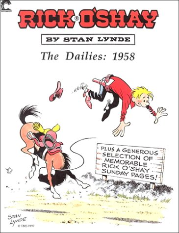 Rick O'Shay: The Dailies: 1958: Lynde, Stan
