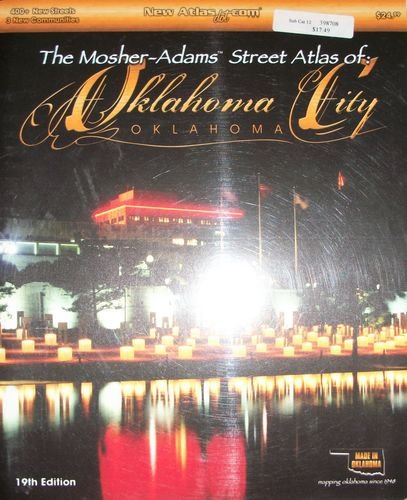 9781886395091: the mosher-adams street atlas of oklahoma city, 19th edition