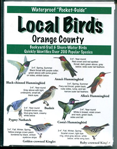 9781886403147: Local Birds of Orange County