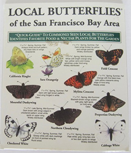 9781886403468: Local Butterflies of the San Francisco Bay Area