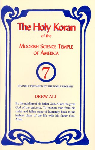9781886433984: The Holy Koran of the Moorish Science Temple of America