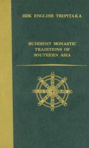 9781886439092: Buddhist Monastic Traditions of Southern Asia: A Record of the Inner Law Sent Home from the South Seas (Bdk English Tripitaka Translation Series)