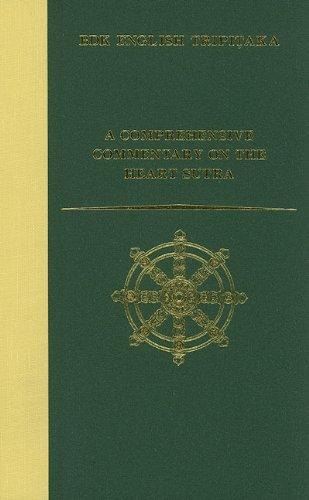 9781886439115: A Comprehensive Commentary on the Heart Sutra (Prajñaparamitahrdaya-sutra) (Bdk English Tripitaka Translation Series)