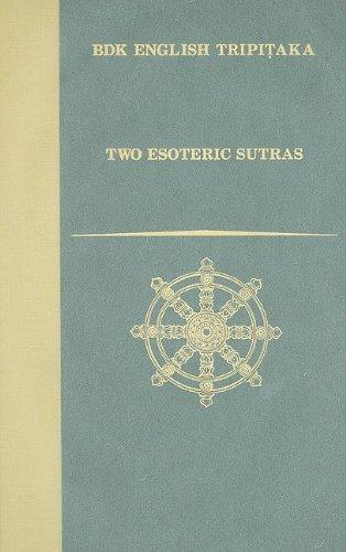 9781886439153: Two Esoteric Sutras (BDK English Tripitaka)