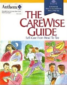 9781886444089: The Carewise Guide (Self-Care From Head To Toe)