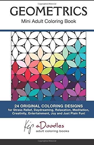 9781886522084: Geometrics : Mini Adult Coloring Book