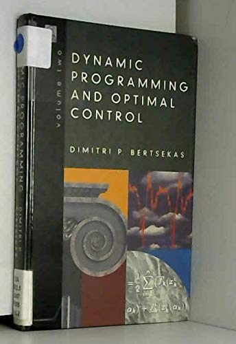 9781886529137: Dynamic Programming and Optimal Control (Volume 2 Only)