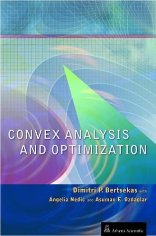 9781886529458: Convex Analysis and Optimization