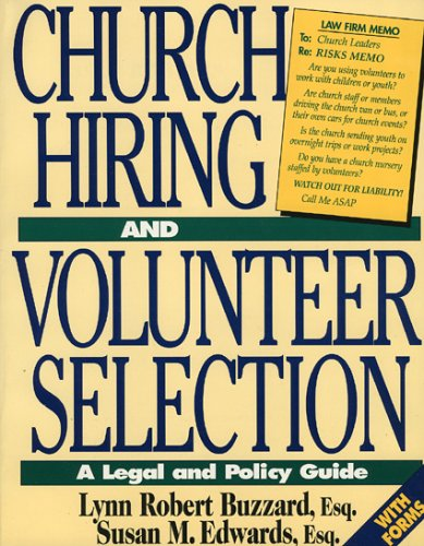 9781886569003: Church Hiring and Volunteer Selection