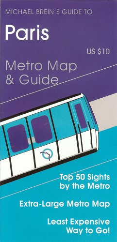 9781886590038: Paris: Michael Brein's Travel Guides To Sightseeing By Public Transportation