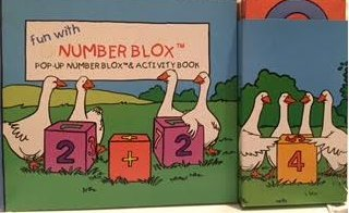 Fun With Number Blox: Pop-Up Number Blox & Activity Book: Alpi, International