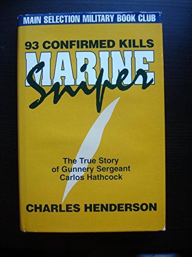 9781886681019: Marine Sniper: 93 Confirmed Kills