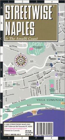 Streetwise Naples Amalfi Coast (Streetwise)