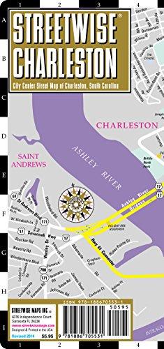 9781886705531: Streetwise Charleston Map - Laminated City Street Map of Charleston, South Carolina: Folding Pocket Size Travel Map (Streetwise (Streetwise Maps))