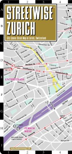 9781886705715 Streetwise Zurich Map Laminated City Center Street