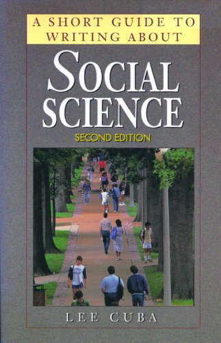 9781886746688: A Short Guide to Writing About Social Science