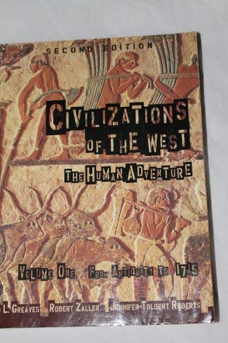 9781886746749: Civilizations of the West: The Human Adventure