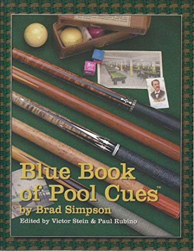 9781886768024: The Blue Book of Pool Cues