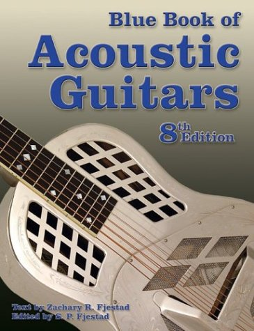 9781886768338: Blue Book of Acoustic Guitars, Eighth Edition