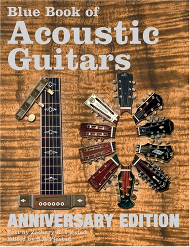 9781886768659: Blue Book of Acoustic Guitars