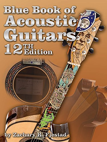 9781886768949: Blue Book of Acoustic Guitars (Book & CD-ROM)