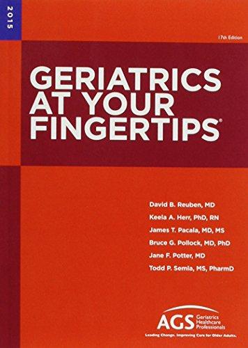 9781886775343: Geriatrics at Your Fingertips 2015