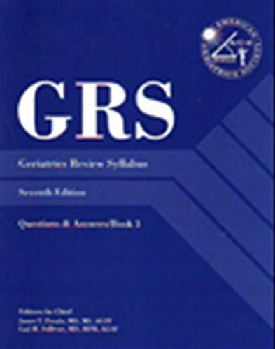 Geriatrics Review Syllabus, by Pacala, 7th Edition, 3 Volume Set: Pacala, James T./ Sullivan, Gail ...