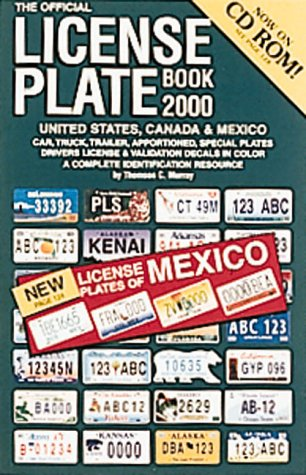 The Official License Plate Book 2000 United: Murray, Thomson C