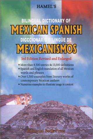 9781886835054: Bilingual Dictionary of Mexican Spanish (Spanish Edition)