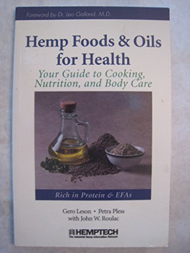 Hemp Foods and Oils for Health