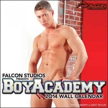 9781886888159: Falcon Studios Boy Academy 2014 Wall Calendar