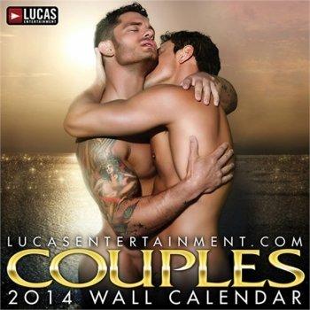 9781886888166: Lucas Entertainment Couples 2014 Wall Calendar