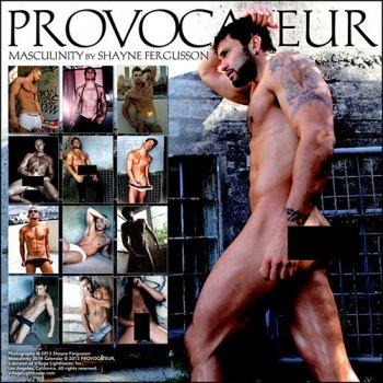Masculinity 2014 Wall Calendar: Shayne Fergusson