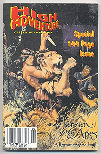 Tarzan of the Apes: A Romance of: Burroughs, Edgar Rice