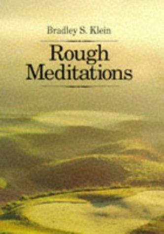 9781886947177: Rough Meditations