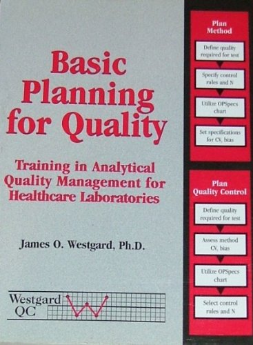 9781886958135: Basic Planning for Quality