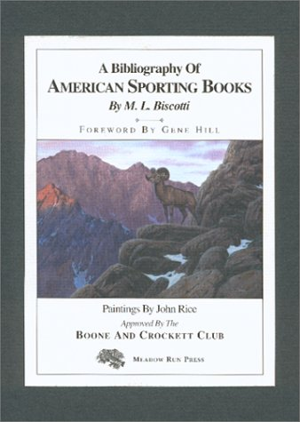 A Bibliography of American Sporting Books 1926-1985