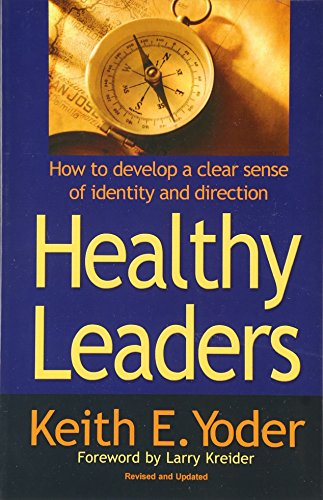 9781886973312: Healthy Leaders: How to Develop a Clear Sense of Identity and Direction